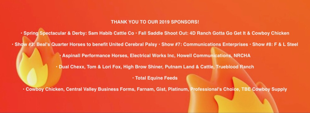 2019 CCHA Sponsors w Flame Background